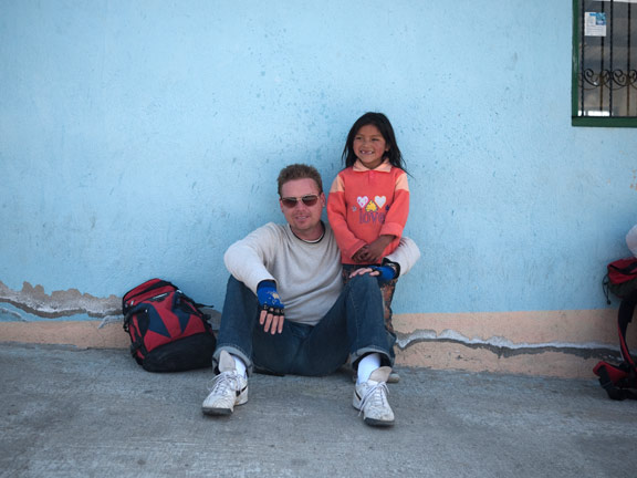 Jay Koppelman, photographer, backpacking in Ecuador. 2010