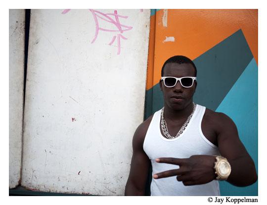 Gang leader in Quito, Ecuador.